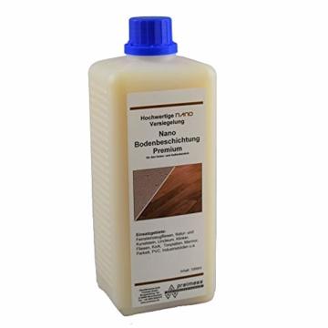 1 Liter Nano Bodenbeschichtung Premium - Laminatversiegelung - Fliesenversiegelung - Holzbeschichtung - Laminatbeschichtung - 1