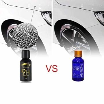 9H Keramik Versiegelung, Greyghost Nano Versiegelung Auto Hightech Lackschutz, Mr Fix 9H Nano Keramikversiegelung Auto Ceramic Coating Kratzer - 5
