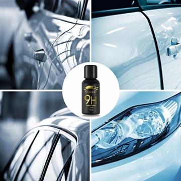 9H Keramik Versiegelung, Greyghost Nano Versiegelung Auto Hightech Lackschutz, Mr Fix 9H Nano Keramikversiegelung Auto Ceramic Coating Kratzer - 7