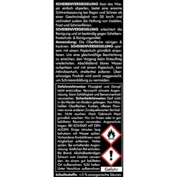 Brestol Scheibenversiegelung 250 ml - Regenabweiser Wasserabweiser Abperleffekt Abperl-Effekt Nano - Der unsichtbare Scheibenwischer - 2