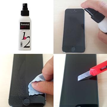 Brillenreiniger Spray und Display Reiniger mit Nanoversiegelung - spart 80% Reinigungszeit (125 ml) - 2