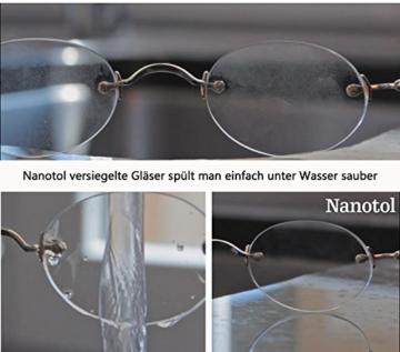Brillenreiniger Spray und Display Reiniger mit Nanoversiegelung - spart 80% Reinigungszeit (125 ml) - 5