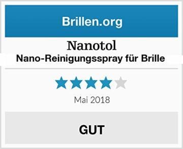 Brillenreiniger Spray und Display Reiniger mit Nanoversiegelung - spart 80% Reinigungszeit (125 ml) - 6