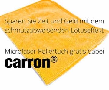 carron PTFE-II Acryl-Glas-Versiegelung Set gegen Kalk-Schmutz Dusche Duschwand Badewanne Duschkabine Fliesen dauerhaft reinigen - 3