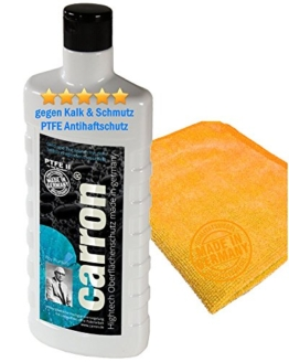 carron PTFE-II Acryl-Glas-Versiegelung Set gegen Kalk-Schmutz Dusche Duschwand Badewanne Duschkabine Fliesen dauerhaft reinigen - 1