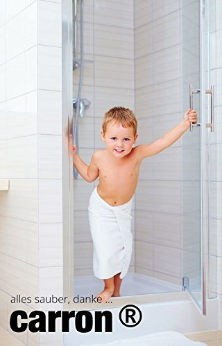 carron PTFE-II Acryl-Glas-Versiegelung Set gegen Kalk-Schmutz Dusche Duschwand Badewanne Duschkabine Fliesen dauerhaft reinigen - 7