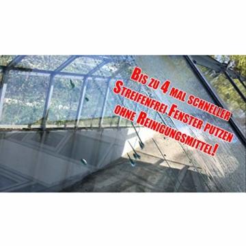 Cleanglas Nanoversiegelung Dusche Bad Fenster Set L Glasversiegelung Inkl. Vorreiniger Dusche Stark Kein Abzieher nötig Nano Glas Versiegelung Fenster Putzen Mit Lotuseffekt (L bis zu 72m2) - 4