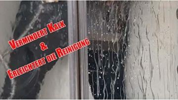 Cleanglas Nanoversiegelung Dusche Bad Fenster Set M Glasversiegelung, Anti Kalk Effekt, Nano Glas Versiegelung Fenster Putzen Mit Lotuseffekt (M bis zu 48m2) - 3