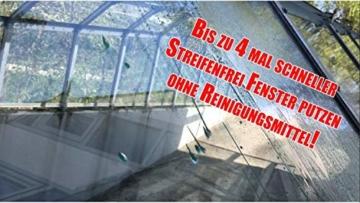 Cleanglas Nanoversiegelung Dusche Bad Fenster Set M Glasversiegelung, Anti Kalk Effekt, Nano Glas Versiegelung Fenster Putzen Mit Lotuseffekt (M bis zu 48m2) - 6