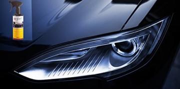 Glart 45SV Auto Lack Schnellversiegelung, Sprühwachs, schnelle Anwendung für Hochglanz, 500 ml - 3
