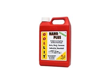 GOLLIT Nano Plus Ultimate 1000 ml Nanoversiegelung für Auto, Boot und Caravan, Lotuseffekt, Autopflege, Lackversiegelung mit Nanotechnologie - 1