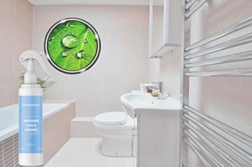 innovano Premium Bad und Keramik Nano Versiegelung mit Lotuseffekt effektiv gegen Kalk und Schmutz für Dusche, Badewanne, Armaturen, Fliesen, Waschbecken und Glas - 3