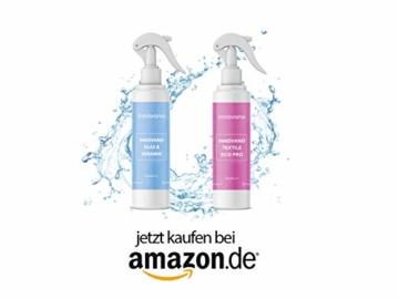 innovano Premium Bad und Keramik Nano Versiegelung mit Lotuseffekt effektiv gegen Kalk und Schmutz für Dusche, Badewanne, Armaturen, Fliesen, Waschbecken und Glas - 4