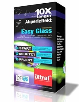 iXtral Duschwand Easy-to-Clean Nanoversiegelung Lotuseffekt für Glas Fliesen Keramik Porzellan gegen Kalk & Schmutz - Dusche reinigen mit Abperleffekt (US-Patent) - 1