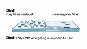 iXtral Duschwand Easy-to-Clean Nanoversiegelung Lotuseffekt für Glas Fliesen Keramik Porzellan gegen Kalk & Schmutz - Dusche reinigen mit Abperleffekt (US-Patent) - 7