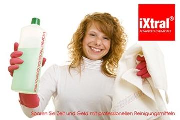 iXtral ® repell ultra Glas-Versiegelung Set gegen Kalk & Schmutz für Dusche & Fliesen. Mit Tiefen-Reiniger und Politur auch für Badewannen. - 4