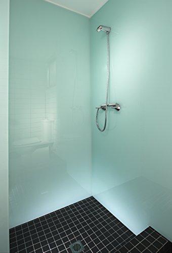 iXtral ® repell ultra Glas-Versiegelung Set gegen Kalk & Schmutz für Dusche & Fliesen. Mit Tiefen-Reiniger und Politur auch für Badewannen. - 7