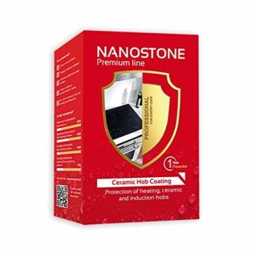 NANOSTONE HOB COATING - Nanoversiegelung für Ceran- Glas, Elektro, Glaskeramik Kochfeld - 1