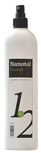 Nanotol Haushalt 2in1 Hybrid Nanoversiegelung - reinigt und versiegelt - erzeugt Schmutz abweisendes Glas - NH21-5 (500 ml) - 1