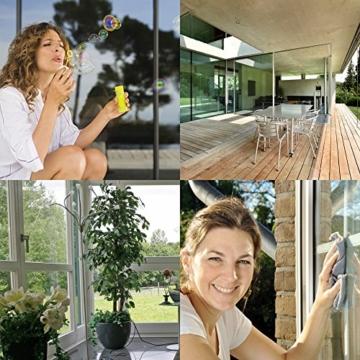 Nanotol Haushalt Protector - Nanoversiegelung für Haushalt, Fenster, Wintergarten, Dachfenster, Vitrinen u.v.m - Nanoversiegelung, Glasversiegelung, Werterhalt, Kristallglaseffekt - 250 ml für 40m² - 5