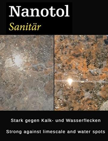 Nanotol Sanitär 1+2, Hybrid Profi Badreiniger mit Lotuseffekt, reinigt, entkalkt und versiegelt gleichzeitig NS21-6 (1000 ml) - 2
