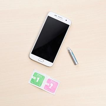 PEARL Nano Versiegelung: Flüssige Displayschutz-Beschichtung für XXL-Tablets, 5 ml (Displayschutz mit Härtegrad) - 4