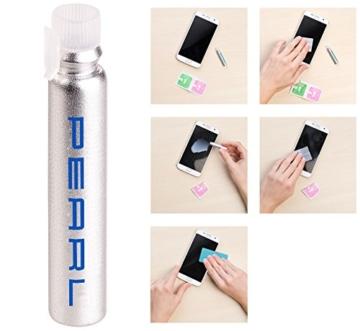 PEARL Nano Versiegelung: Flüssige Displayschutz-Beschichtung für XXL-Tablets, 5 ml (Displayschutz mit Härtegrad) - 5