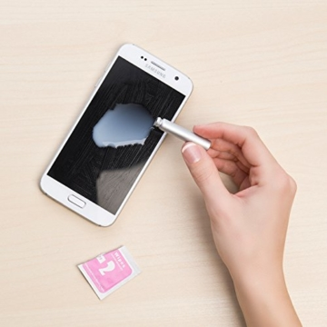 PEARL Nano Versiegelung: Flüssige Displayschutz-Beschichtung für XXL-Tablets, 5 ml (Displayschutz mit Härtegrad) - 7