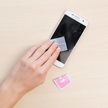 PEARL Nano Versiegelung: Flüssige Displayschutz-Beschichtung für XXL-Tablets, 5 ml (Displayschutz mit Härtegrad) - 8