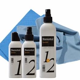 Set Duschkabinen Versiegelung - Nanoversiegelung Dusche - Lotuseffekt für Duschglas - 1