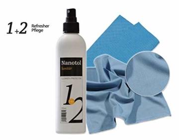 Set Duschkabinen Versiegelung - Nanoversiegelung Dusche - Lotuseffekt für Duschglas - 4