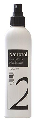 Steinversiegelung Steinimprägnierung - Nanotol Protector für mineralische Oberflächen - Nanotechnologie Versiegelung für offenporige Steine (250 ml - 5m²) - 1
