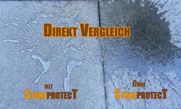 StoneprotecT SP5000 Nano Steinversiegelung Steinimprägnierung I Versiegelung und Imprägnierung von Beton Pflastersteine Terrasse Fliesen Fassade I Schutz vor Feuchtigkeit Algen Schmutz und Öl I 5l - 2